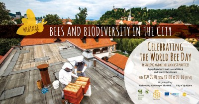 Brezplačni elektronski seminar ob obeležitvi Svetovnega dneva čebel